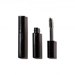 Traditional round mascara/gloss vial